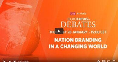 Nation branding post covid euronews debate
