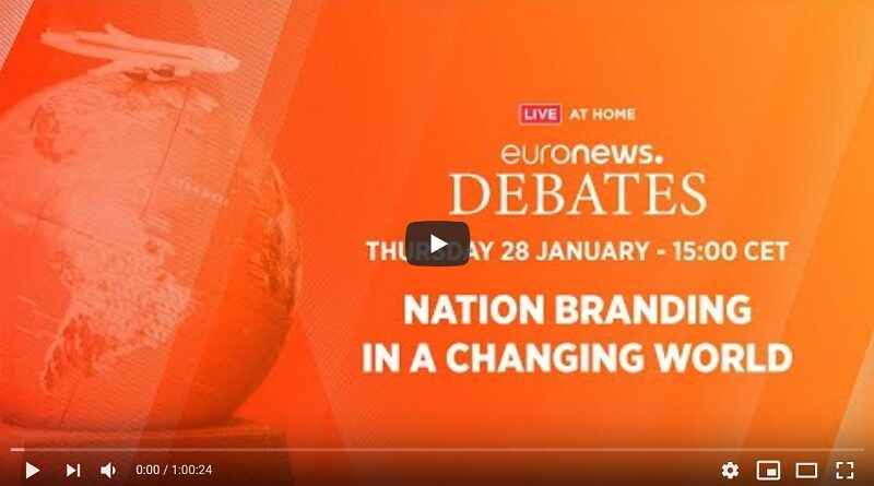 Nation branding post covid euronews debate