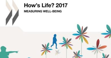 OECD How's Life 2017 well-being study