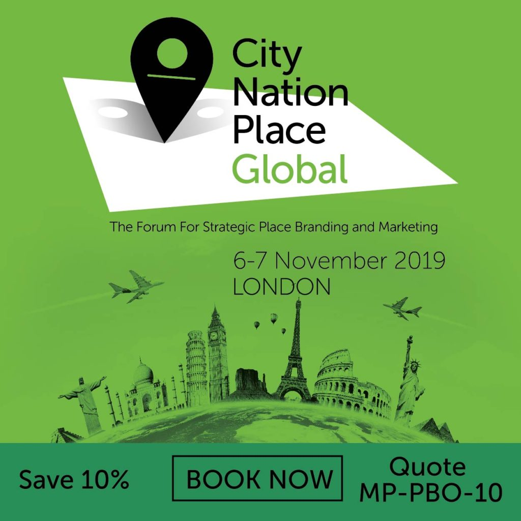 City Nation Place conference London 2019