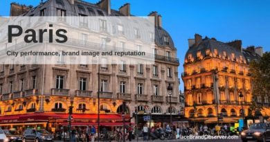 Paris city performance, brand image and reputation