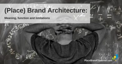 Place brand architecture - meaning, function, limitations