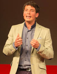 Place branding doctoral researcher Renaud Vuignier at TEDx Switzerland