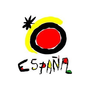 Place branding of Spain - Joan Miro sun symbol