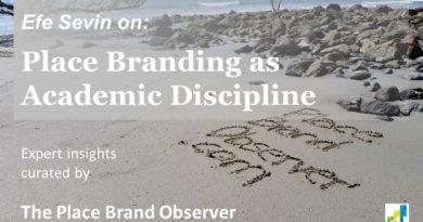 Place branding research academic discipline