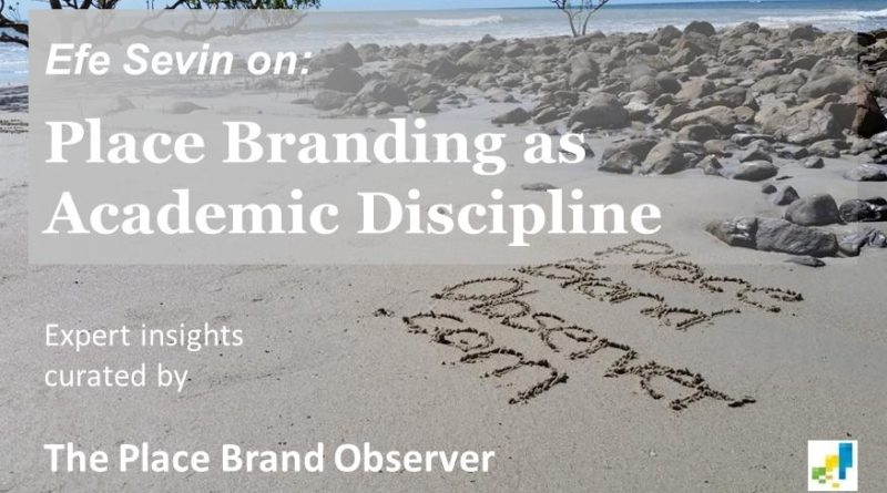Place branding research academic discipline