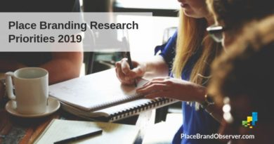 Place branding research priorities 2019
