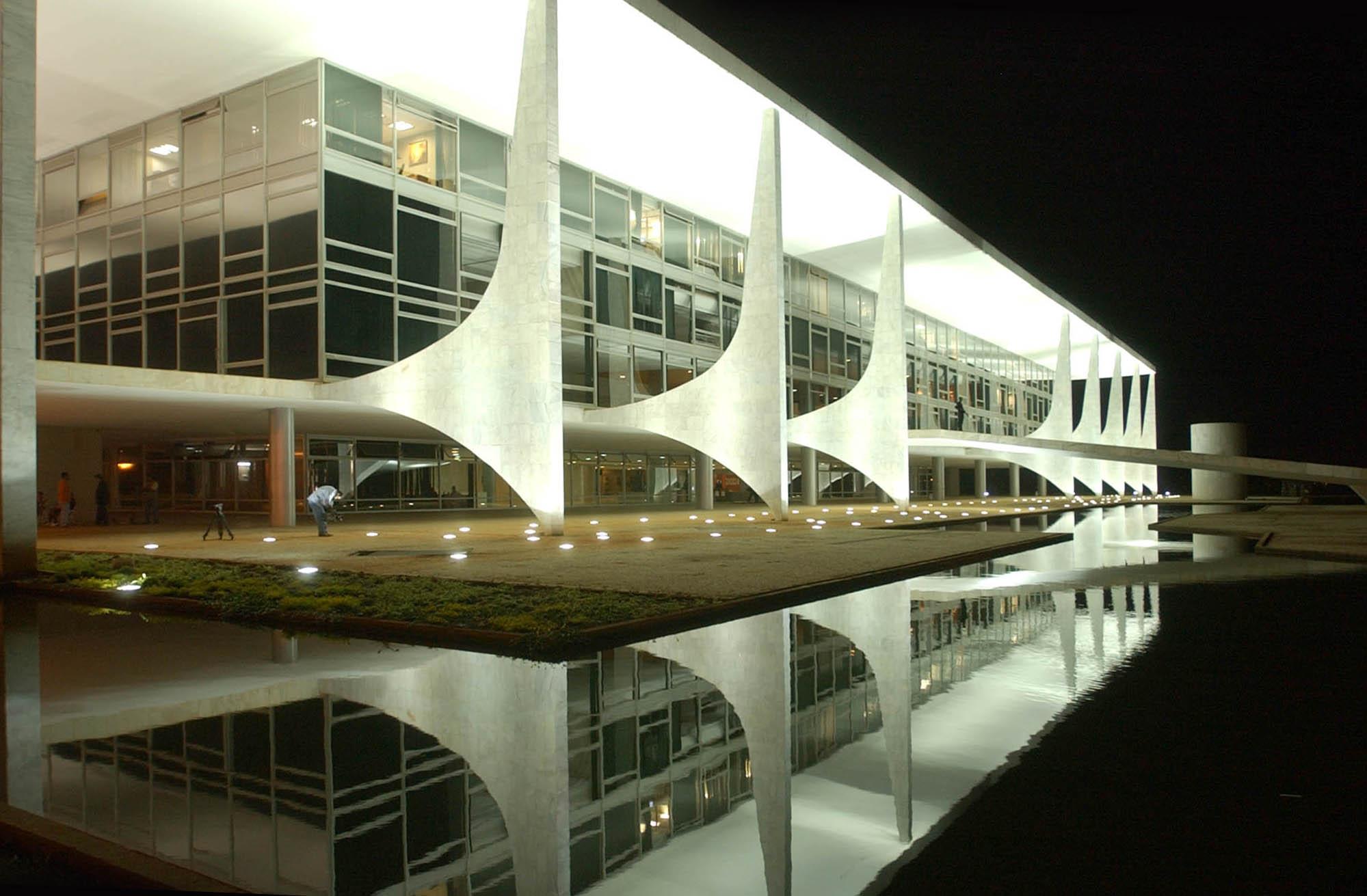 Presidential building Brasilia, Brazil