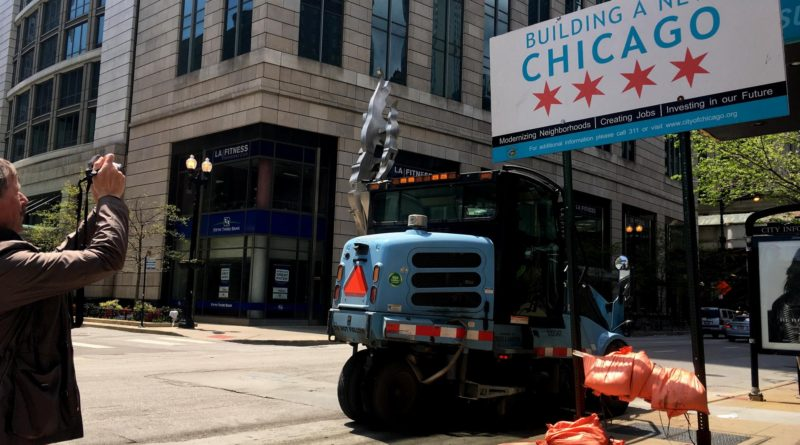 Role of flags in city branding example Chicago