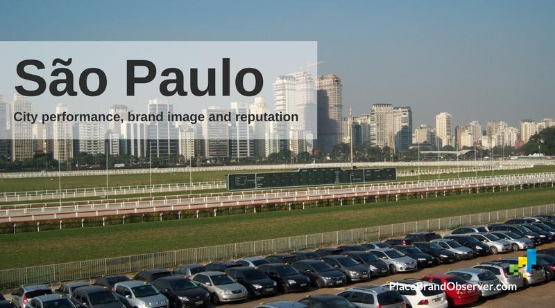 Sao Paulo city performance, brand image, reputation