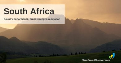 South Africa country performance, nation brand strength, reputation