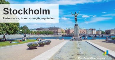 Stockholm city performance, brand strength, reputation