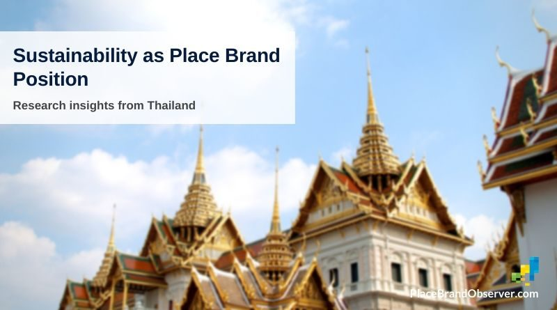 Sustainability as place brand position: research insights from Thailand