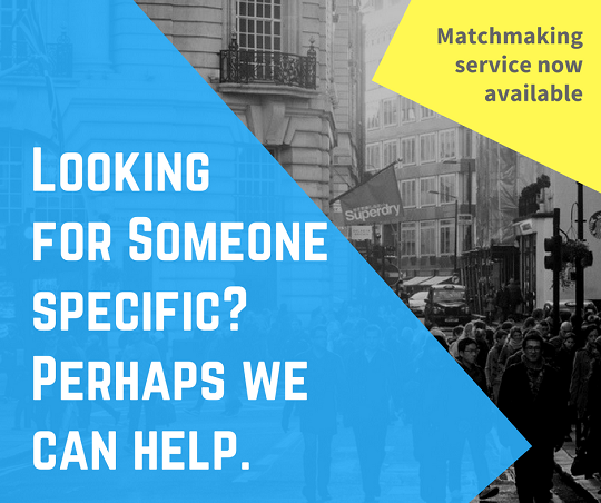 Matchmaking service for place brand pros