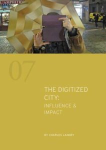 The Digitized City book by Charles Landry