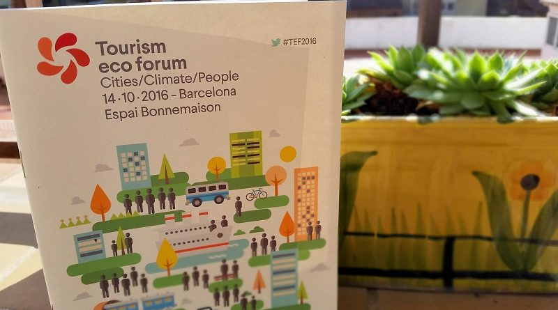 Tourism Eco Forum Barcelona 2016