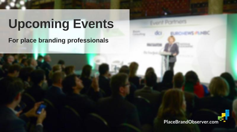 Upcoming events and conferences for place branding professionals