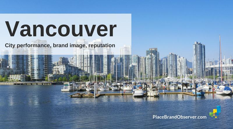 Vancouver city performance, brand image, reputation