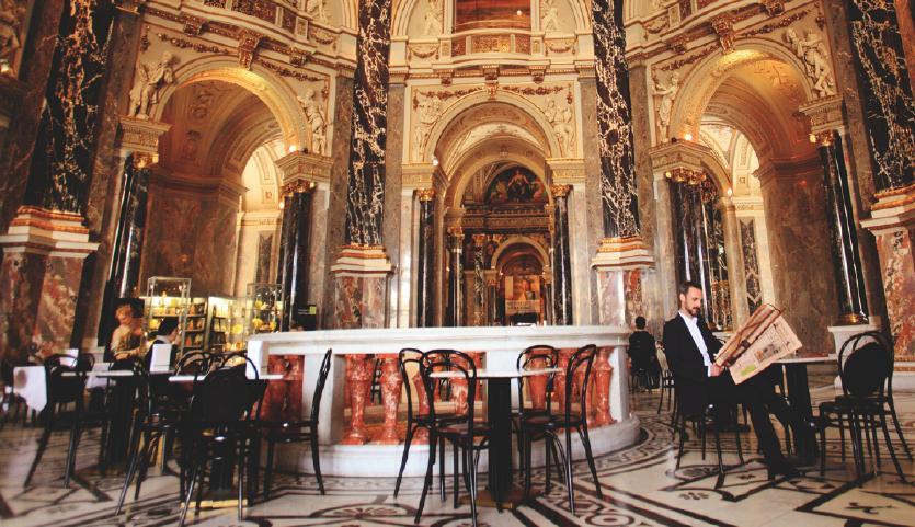 Viena ciudad destino cultura cafeterías