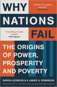 Why nations fail - recommended book