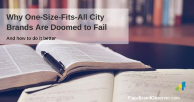 Why one size fits all city brands are doomed to fail