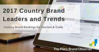 2017 Country Brand Rankings for Tourism and Trade