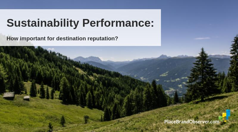 Sustainability Performance: How Important For Destination Reputation?