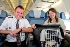 kakapo translocation air nz pilot and dept of conservation ranger