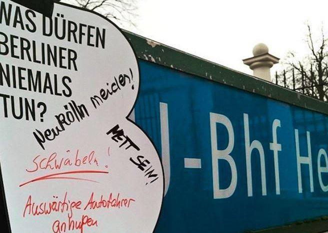 Berlin city identity marketing campaign