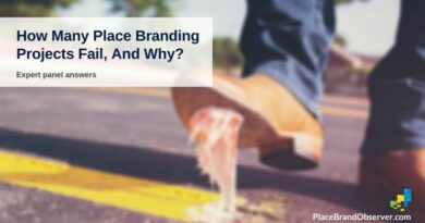 How many place branding projects fail, and why